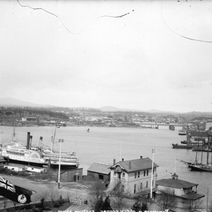 1889 Inner harbour from Parliment